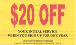 Print Now - $20 Off - Pearce Pest Control